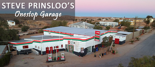 steve prinsloo, onestop garage, aus garage, self catering accommodation, namibia, breakfast, lunch, diesel, petrol station aus, budget accommodation