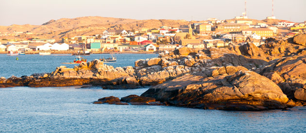 Luderitz, in the Karas Province of Namibia